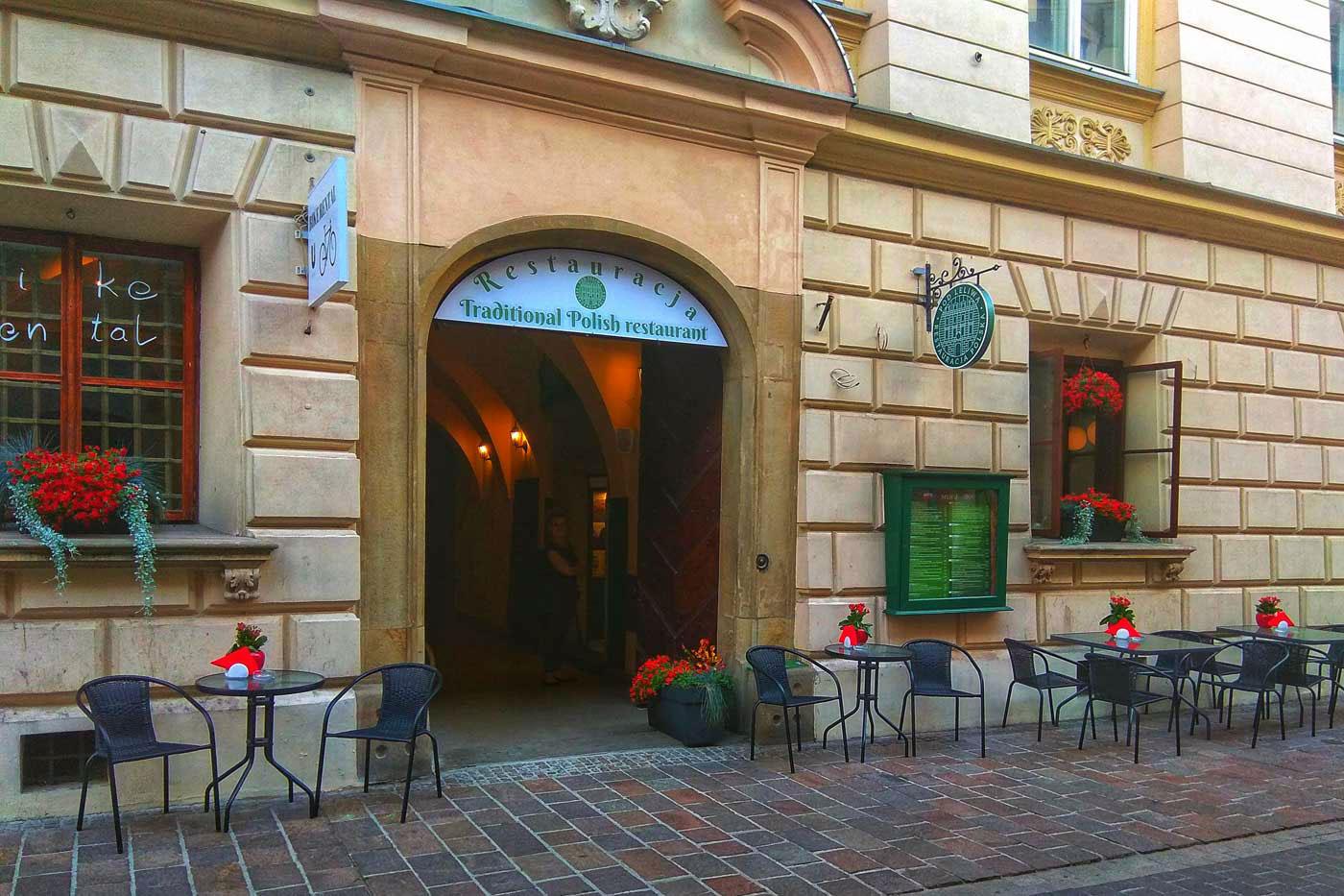 Restauracja Pod Leliwa Na Rynku W Krakowie